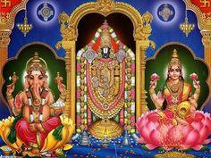 Sri Ganesha-Sri bVenkateswara-Sri Lakshmi