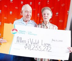 Back in 2010 this amazing couple won a whopping $11.2 MILLION in the Atlantic Lottery but decided to donate 98% of it to charities!