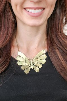 Betty Butterfly Necklace