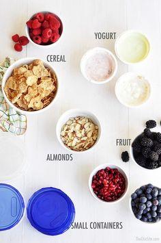 Parfaits To Go Recipe | POPSUGAR Food