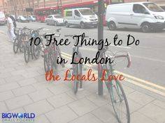 There are a heap of free things to do in London and, after living in this great city for over 3 years, I can share many of the local favourites with you.