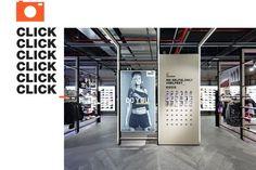 Courir branding and store design by Carré Noir, Paris – France » Retail Design Blog