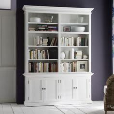 "Halifax 87"" Double Bay Bookcase"