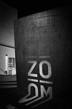 ZOOM – Basle Film Festival & Film Prize ° Identity by Andreas Hidber, via Behance -Corporate identity and imagery with analog projections. Environmental Graphic Design, Environmental Graphics, Festival Image, Film Festival, Storefront Signage, Bold Typography, Cinema Posters, Fade To Black, Visual Communication