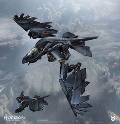 Stormbringer Early Concept from Horizon Zero Dawn