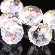 Wholesale 5040 Austria Crystal Rondelle Beads Pick (3mm 4mm 6mm 8mm 10mm 12mm) (8mm crystal ab 100 pcs) Beads http://www.amazon.com/dp/B00J1YOWNM/ref=cm_sw_r_pi_dp_B9Zlvb1GP2PD1