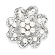 0b79ba7f6 11 Best Brooches / Hair Combs images | Bridal jewelry, Jewelry, Prom ...