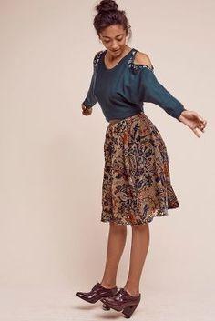 Velvet Glasgow Skirt