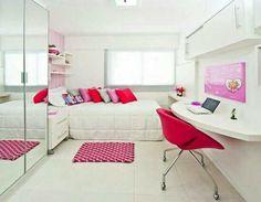 Quarto feminino. _-_ #pink