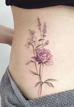 Tattooist Flower tattoo