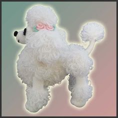 Lara, The Poodle Toy - Side (pattern by DeliciousCrochet) by DeliciousCrochet, via Flickr