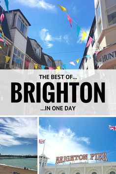 A daytripper's guide to the best of Brighton, UK - a great day trip from London!