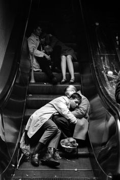 New Year's Eve, Grand Central Station, NYC, 1969. Photo by Leonard Freed