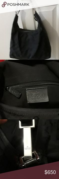 Gucci Black Purse Authentic Gucci purse Gucci Bags