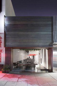 "restaurant | ""yojisan sushi"" | beverly hills, california | by dan brunn."