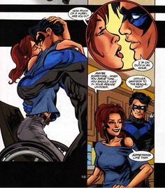manicaddictions:    Some Dick/Babs love. Uniform fetish much?    Get it, Babs.
