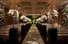 Casamento Jockey SP: branco e rosa   Noivinhas de Luxo  www.noivinhasdeluxo.com.br