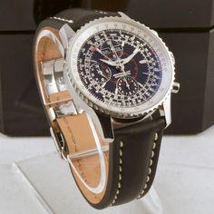 """Breitling Navitimer Montbrillant Datora Men's Watch. $4,499 via eRelyx.com This watch will definitely """"turn heads"""""""