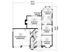 1st Floor Plan, 072H-0240