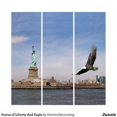 Liven up the walls of your home or office with Statue Of Liberty wall art from Zazzle. Check out our great posters, wall decals, photo prints, & wood wall art. Triptych Wall Art, Wood Wall Art, Wall Art Decor, Statue Of Liberty, Illusions, Wall Decals, Eagle, Prints, Statue Of Liberty Facts