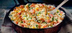 20-minute Chicken & Rice Dinner