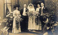 Elegant Edwardian wedding in Broughton