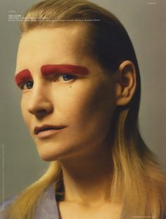// Kirsten Owen for Self Service - Spring/Summer 2014 Photographed by Jamie Hawkesworth