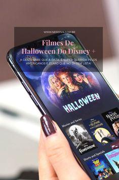 A gente sabe que o Halloween é uma data super querida pelos americanos e claro que o Disney + tá com uma coletânea só de filmes e seriados com esse tema. Hocus Pocus, Disney Channel, Zombies, Toy Story, Pixar, Data, Halloween, Movie List, Pixar Characters