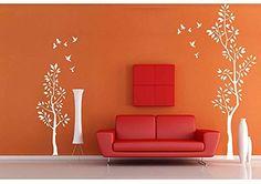 parete tatuaggio Adesivo adesivo muro Adesivi da parete Stickers murali soggiorno, camera per bambini sala CUCINA cuore albero rami 30 colori a scelta wbm13(010 bianco, ca.180x58cm, http://www.amazon.it/dp/B00TLNQZ1A/ref=cm_sw_r_pi_awdl_ROadxb0C4AEYX
