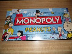 PEANUTS MONOPOLY COLLECTOR'S EDITION Charlie Brown Lucy Linus BRAND NEW Rare