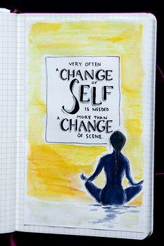 Change of Self