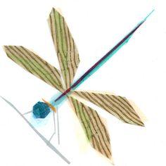 lula b dragonfly  print by tinyfawn on Etsy, $14.00