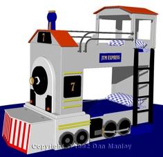 Train bunk beds Fancy Bedroom, Kids Bedroom, Kid Beds, Bunk Beds, Train Bedroom, Carriage Bed, Kids Bed Design, Baby Girl Toys, Toy Rooms