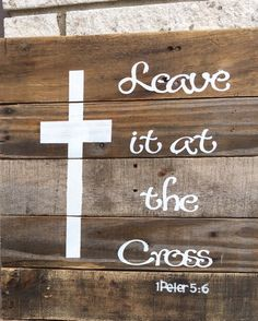 Re purpose Pallet Sign Rustic Religous by AllTogetherwithLove
