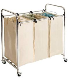 Wayfair Basics 3-Bag Laundry Sorter | Never go on a scavenger hunt for clothes again with these five closet savers.