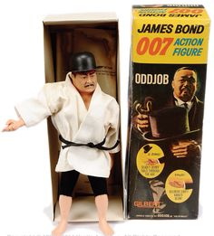 "Gilbert James Bond "" Oddjob"" Action Figure"