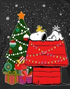Snoopy and Woodstock Snoopy The Dog, Snoopy Cartoon, Peanuts Cartoon, Snoopy And Woodstock, Peanuts Snoopy, Peanuts Christmas, Charlie Brown Christmas, Charlie Brown And Snoopy, Christmas Art
