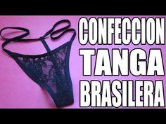 Cómo confeccionar una tanga brasilera - YouTube