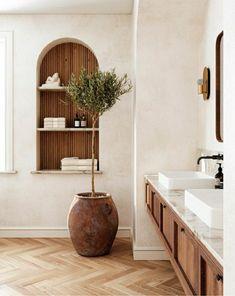 Bathroom Inspiration, Interior Design Inspiration, Home Decor Inspiration, Decor Ideas, Bathroom Interior Design, Bathroom Designs, Beautiful Bathrooms, Timeless Bathroom, Interiores Design