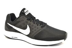 wholesale dealer 15cb0 834cd NIKE 852466 010 WMNS DOWNSHIFTER 7 Bianco Nero Donna Ragazza Palestra  Running