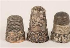 vintage thimbles