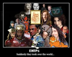 ENTP - wow no wonder Jack Sparrow, Robert DJ and Ryuuk are like my favourite people :)