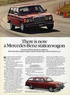 There is now a Mercedes-Benz station wagon