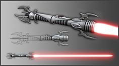 Sith Lightsaber Hilt by broodofevil on @DeviantArt