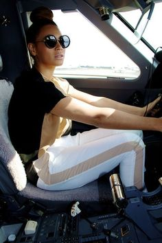 She Even Drives Perfectly