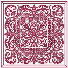 Free memorial cross-stitch pattern - Bouquet for Cheryl. Pdf at http://www.carriesthreads.com/files/Cheryl_bouquet
