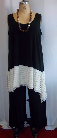Hey, I found this really awesome Etsy listing at https://www.etsy.com/listing/184216789/coco-and-juan-lagenlook-plus-size-black