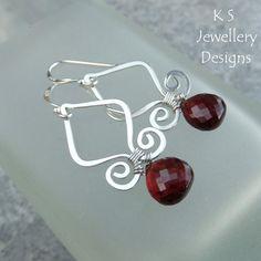 Wire Jewelry Tutorial GENIE DROPS Earrings von KSJewelleryDesigns