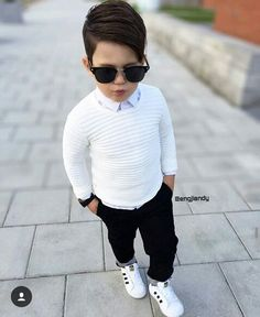 Learn all about the trendiest Outfit with haircuts, the most exciting parties, and the best-trained stylists around.Hope You Get a Great ideas for your kid. Trendy Boy Outfits, Outfits Niños, Little Boy Outfits, Kids Outfits, Fashion Outfits, Toddler Boy Fashion, Little Boy Fashion, Toddler Boy Outfits, Baby Girl Fashion