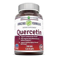 Amazing Nutrition Amazing Formulas Quercetin 500 Mg 120 V...